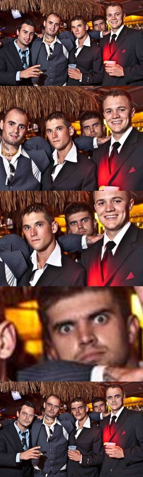 """Scroll down - it's funny = The """"Creeper"""" Photobomb 