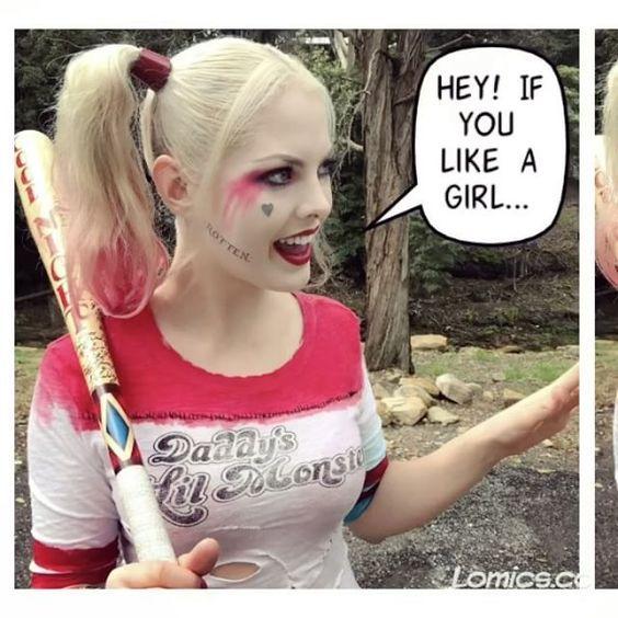 Harley Quinn Futa Supergirl