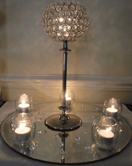 Amazing Crystal Trees Crystal Globes   Table Centerpieces, Table Decorations,  Feather Fantasy, Candelabras, Crystal Trees, Crystal Globes   Services    Busu2026