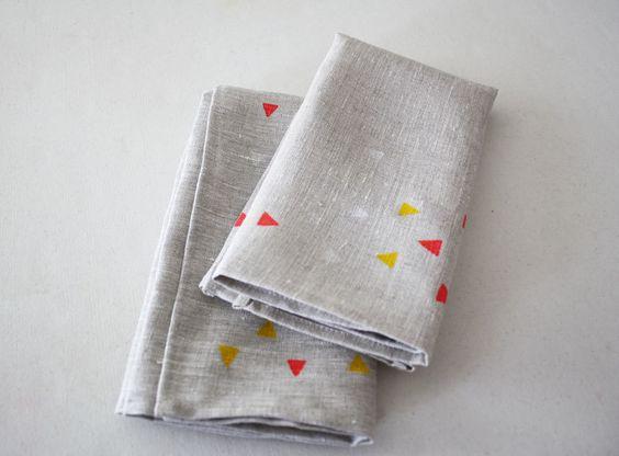 geo napkins by linea carta