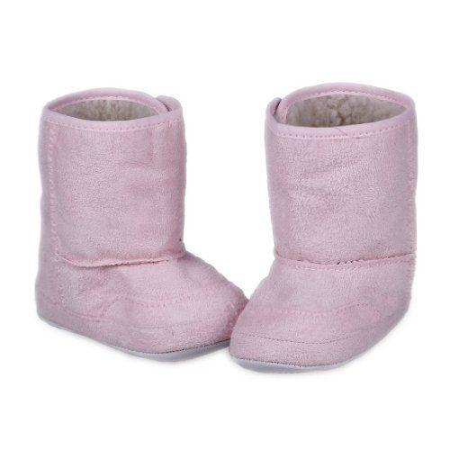 La vogue Zapatos Botas De Nieve Para Bebé Niños Invierno Caliente Talla XXL Rosa