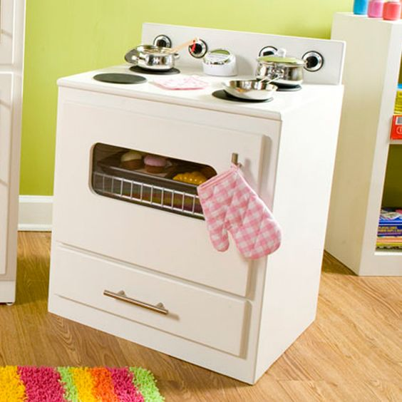 Diy Child S Play Kitchen: Build A Child's Kitchen Playset (Oven) Create Hours Of Fun