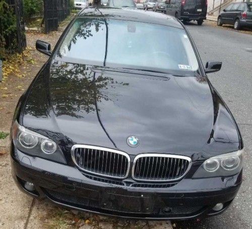 2007 Bmw 750i Black Under 7000 In Philadelphia Pa 19140 By Owner Bmw Cheap Cars For Sale Bmw Models