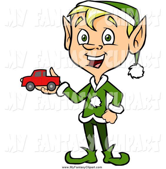 happy elf clipart - photo #19