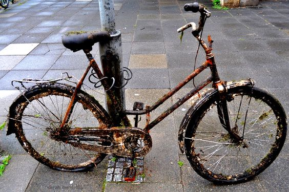 Sarah Burdelak: Altstadt-Hannover-Fahrrad