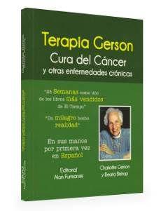 """Productos naturales, equipos y tratamientos para terapias alternativas: Libro: """"Terapia Gerson Cura del Cancer y otras Enfermedades Cronicas"""""""