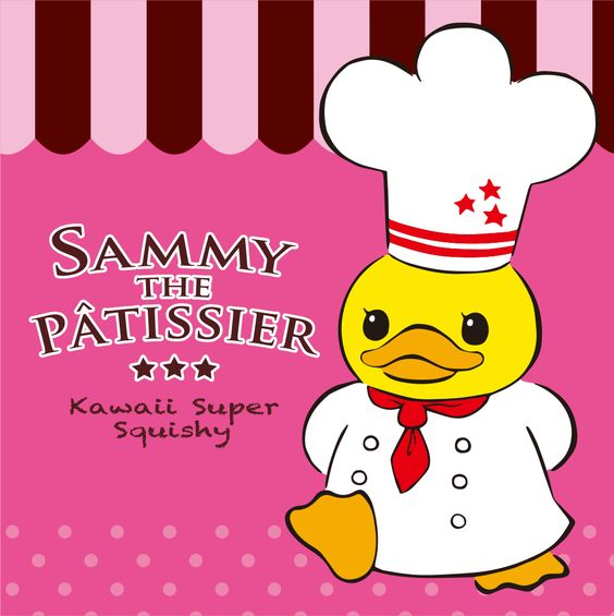 Cafe De N Squishy Tag : All About Sammy The Patissier Squishies Plus Exclusive Interview from the creator. Squishies ...
