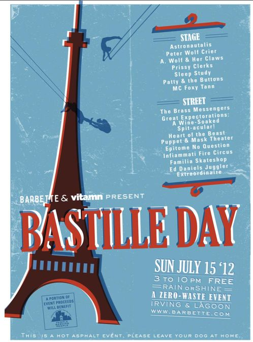 bastille day celebration in france