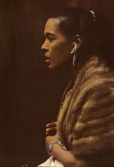 Billie Holiday by Jay Maisel