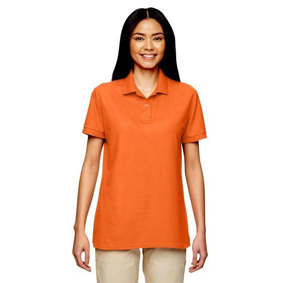 Gildan Dryblend Women's Double Pique Sport Safety Shirt