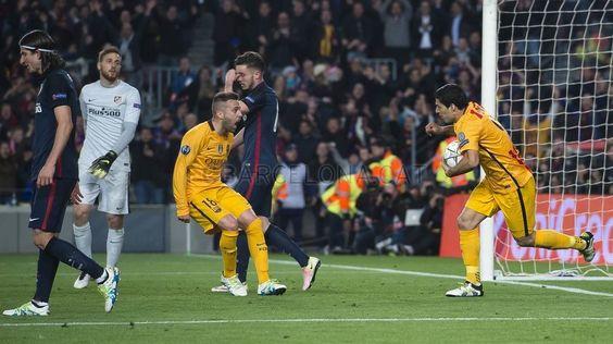 Los goles de Luis Suárez contra el Atlético de Madrid   FC Barcelona