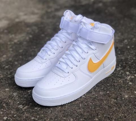 Nike Air Force 1 Mid giallo