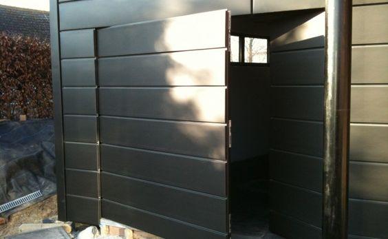 bardage en zinc profil emboitement ext rieur maison. Black Bedroom Furniture Sets. Home Design Ideas
