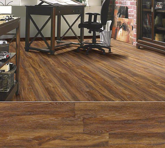 Shaw Laminate In Style Avenues Color Warm Hickory