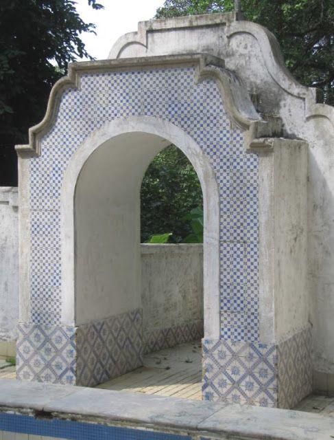 Azulejos Antigos No Rio De Janeiro Alto Da Boa Vista V Museu Do