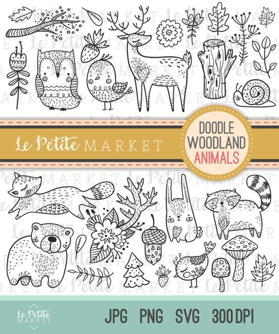 25+ Homes For Different Animals Clipart