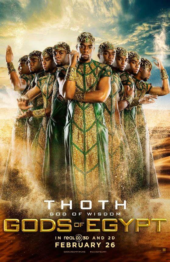 Dioses De Egipto 2016 Película Dioses De Egipto Egipto Póster De Cine