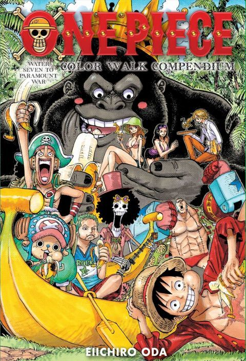 One Piece Color Walk Compendium Water Seven To Paramount War Home Circle Media Anime Accessories And More Free Books Download Download Books Popular Manga