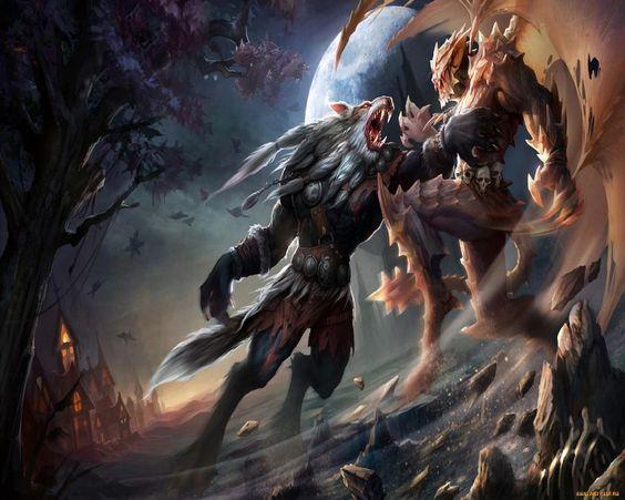 werewolfvsdemonjpg 12802151024 concept art