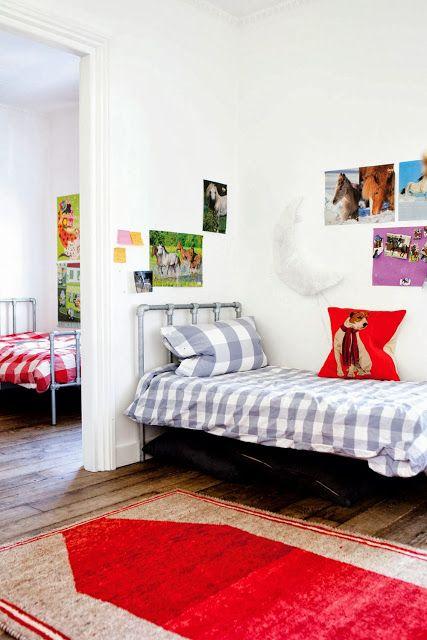 Un dormitorio infantil :) +get the look en el blog http://decoratualma.blogspot.com.es/2013/09/londres-mix.html