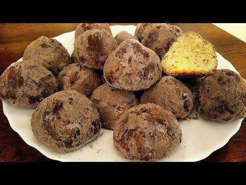Asan Pecenye Resepti Hərkəsin Hazirlaya Biləcəyi Dadli Tryufel Pecenyesi Kolay Kurabiye Tarifi Youtube Food Make It Yourself Breakfast