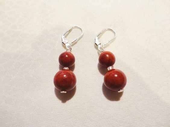 Ohrringe aus Silber. Entdecken auf: www.palundu.com/ #handmade #ohrringe #silber #jewelry #schmuck #ohrhänger #edelsteine #palundu #handgemacht