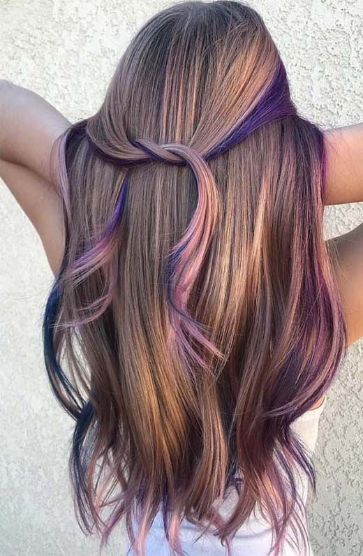 Best Hair Colors Highlights 2019 Cool Hair Color Hair Styles Lilac Hair