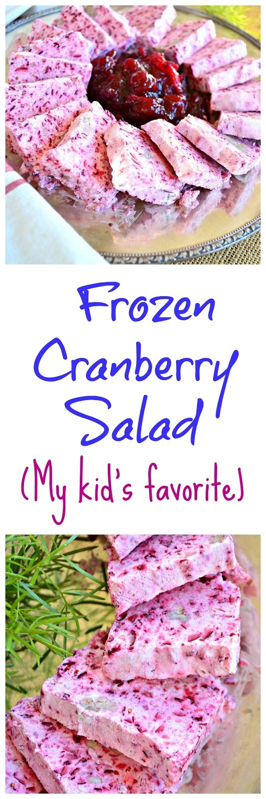 This is How I Cook: Frozen Cranberry Salad