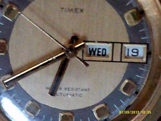 VINTAGE MENS SELF WIND TIMEX WATCH #Timex