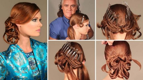 How To! Patrick Cameron's Wondrous Holiday Hairstyle Step-by-Step