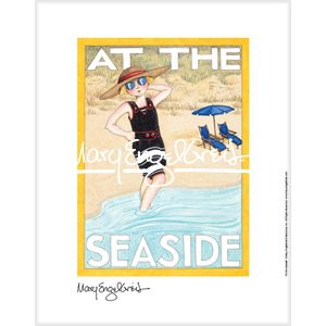 """""""At The Seaside"""" Fine Print"""