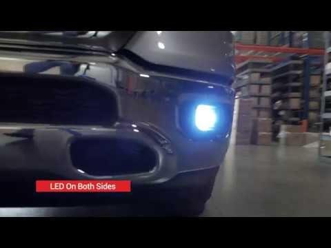 2019 2020 Ram 1500 H11 Led Fog Light Upgrade Install Replace Led Lights For Trucks Led Fog Lights Ram 1500