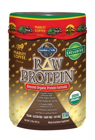Best prices I've found are at thenaturalonline.com and amazon. usually half the price of what you'll find in most health food stores.   Marley Coffee Raw Protein Malt > Garden of Life's Blog > Home
