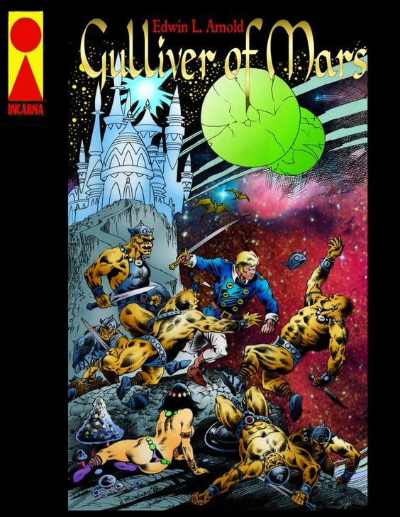 Image result for gulliver mars comics