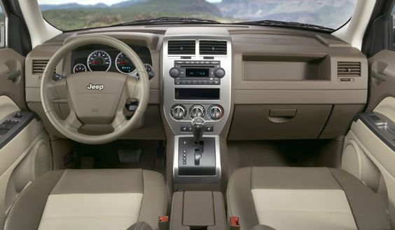 2008 Jeep Compass | View of dash.