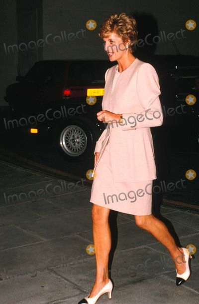 9 July 1993 Diana at Heathrow Airport flying to Zimbabwe Photo by Dave Parker-alpha-Globe Photos