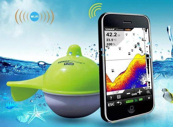 fish finder wireless ice fishing wireless sonar depth sounder, Fish Finder