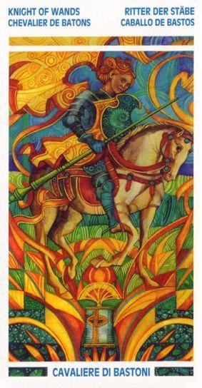 Crystal Tarot ► Knight of Wands