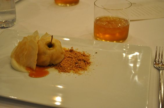 Fallen fruit @chefdanhunter 's Royal Mail Hotel