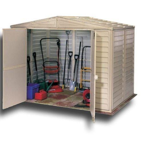 Garden Sheds 8x10 garden sheds - duramate 8x6 plastic shed | high quality plastic