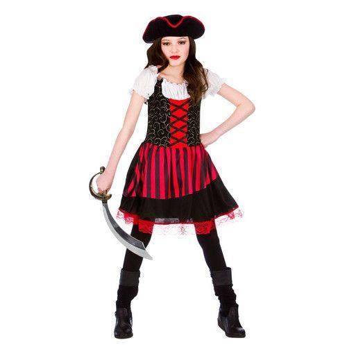 Lady Buccaneer Mini Pirate Hat Adult//Teen//Kids Halloween Fancy Dress Costume