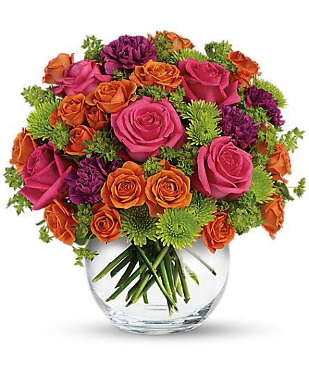 Teleflora's Smile for Me Flowers: