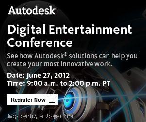 Autodesk Digital Entertainment Conference