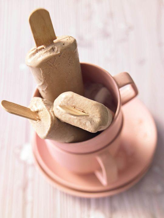 Nutella-Eis am Stiel