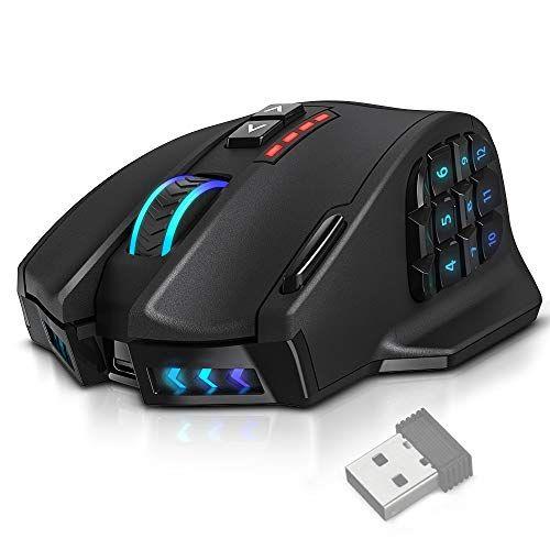 Utechsmart Venus Pro Rgb Mmo Wireless Gaming Mouse 16 000 Dpi