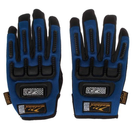 Find More Cycling Gloves Information about Mad Bike MAD 11 Bike Professional Full Finger Racing Gloves   Blue + Black (Size L),High Quality gloves tight,China gloves china Suppliers, Cheap gloves power from Homepro365 on Aliexpress.com