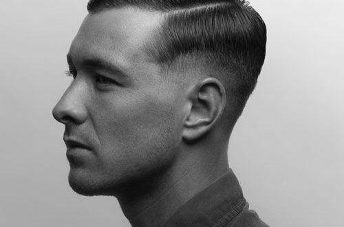 Frisuren Manner 1940 Frisurentrends Haarschnitt Manner Rasiert Seite Frisuren Militarhaarschnitte