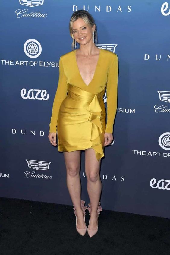 Amy Smart at the Art of Elysium 13th Annual Heaven Celebration #2019 #Gala