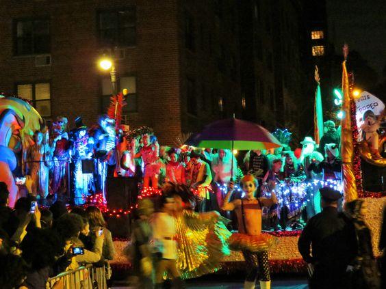 Halloween Parade NYC 2015