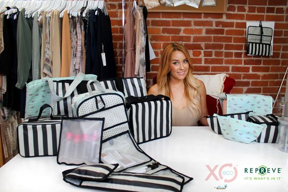 Lauren Conrad Turns Bottles Into Surprisingly Cute Bags With XO(eco)